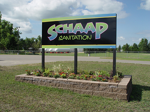 sign post and panel prints with installation services