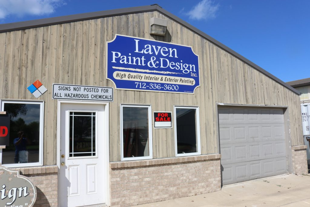 Store front wall panel signs