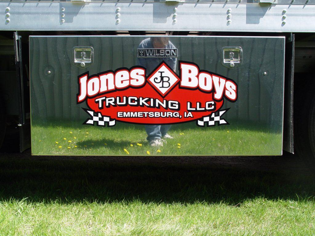 Truck logo design decals