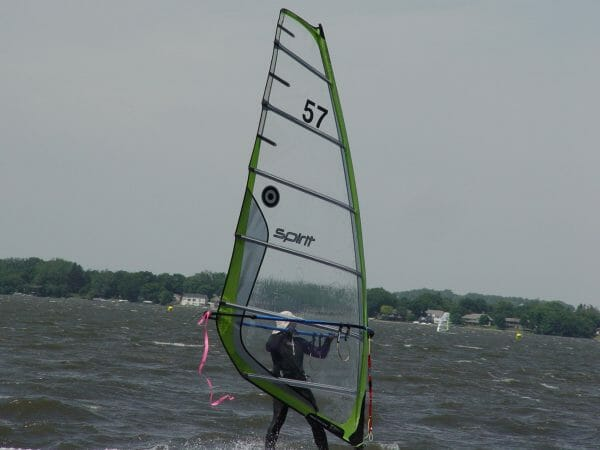 black cut vinyl number decals for windsurf regatta race events