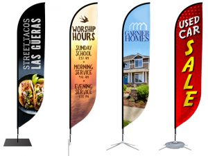 Feather Flag Banner Stand